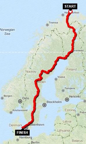 Nordkap sommeren 2013